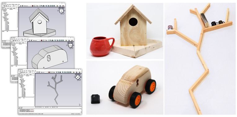 'Carpentry Compiler' turns 3D models to instructions on how to build them