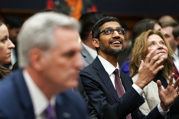 Google CEO Sundar Pichai is taking over as CEO of Alphabet, too