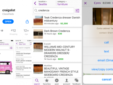 Finally, an official Craigslist app