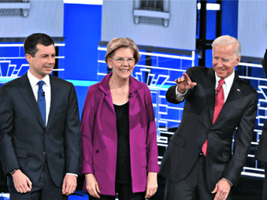 Democrats Disturbed by the White 2020 Candidates Left in Field