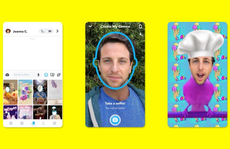 Snapchat Cameos lets you insert your face into a GIF