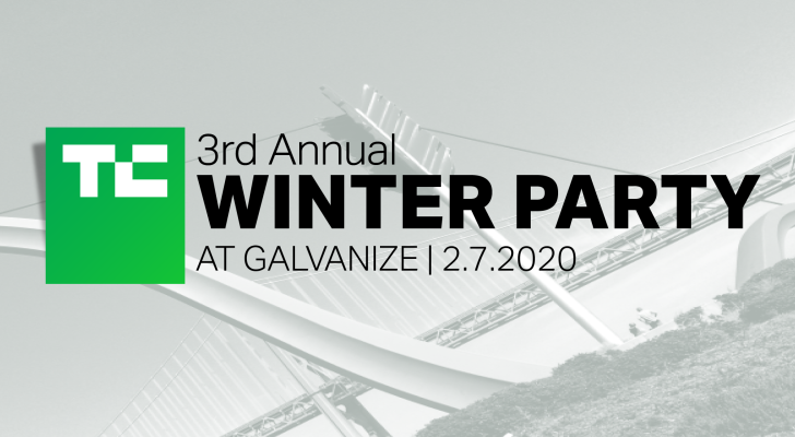 Join TechCrunch for our 3rd Annual Winter Party