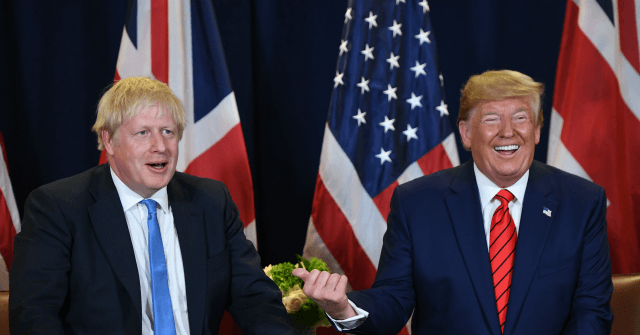 Trump Hails UK Election Result, 'Massive Trade Deal After Brexit'