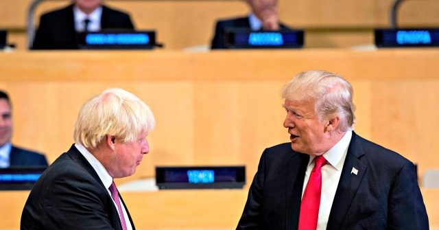 Trump: Boris Johnson Victory 'Might Be a Harbinger for What's to Come'