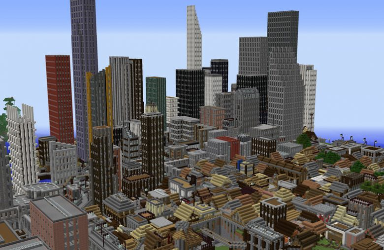 This Gamer's Massive Minecraft City Build is an Incredible 5-Year Effort