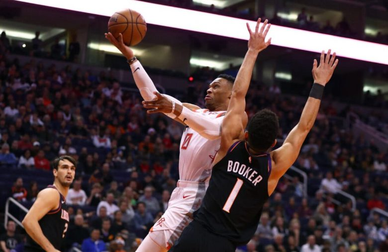 Houston's Title Hopes Have Liftoff as Incredible Westbrook Musters Rocket Fuel
