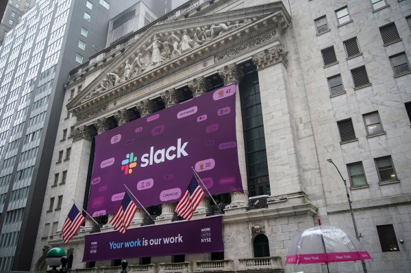Slack's worth about 18x revenue, and there's nothing wrong with that