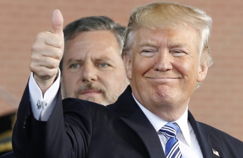 Jerry Falwell Jr's Liberty U Insiders are Treating Donald Trump Worse Than Christianity Today