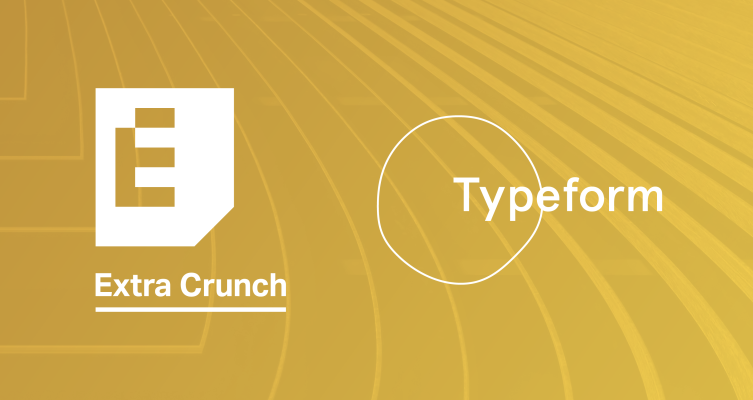Typeform Premium is now 25% off for Extra Crunch members