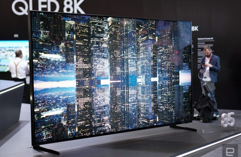 Samsung's QLED 8K TV will be one of the first certified by the 8K Association