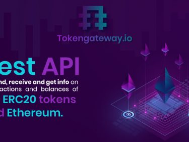 Tokengateway.io Allows to Automate Sending Tokens/Ethereum and Getting Information on Balances