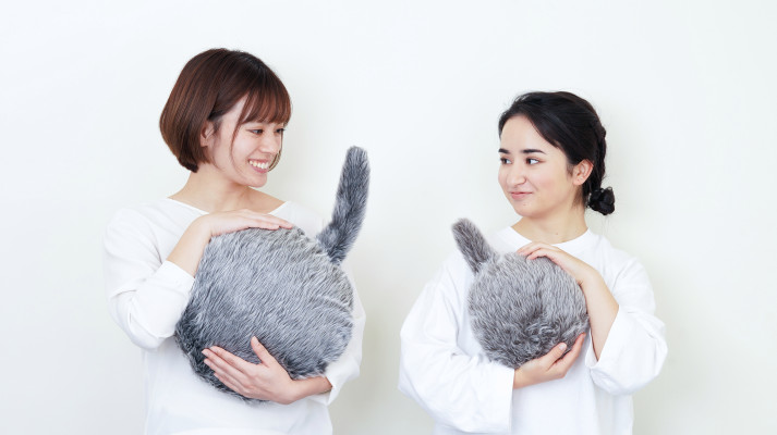 A smaller, cheaper version of Qoobo, the robotic cat pillow, is on the way
