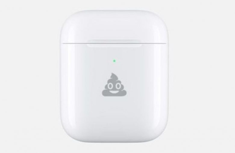 Apple will engrave emoji on your AirPods case for free