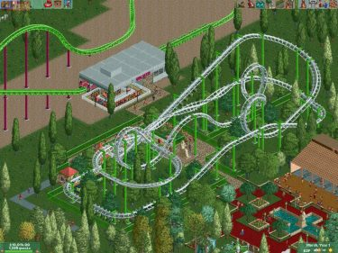 YouTuber Builds 135-Year-Long 'Century Ride' in RollerCoaster Tycoon 2