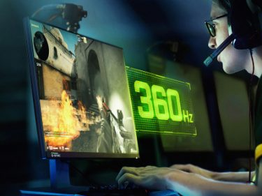 Nvidia's new 360Hz G-Sync displays are tailor-made for esports