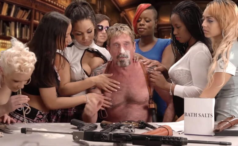 john-mcafee's-cowardly-bitcoin-u-turn-proves-he's-the-clown-of-crypto