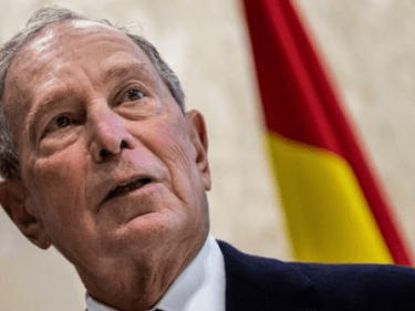 Michael Bloomberg Is Spending All His Money to 'Get Rid of Donald Trump'