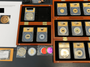 this-epic-bitcoin-casascius-collection-is-a-hefty-$700,000-collectible