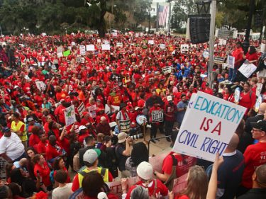 #RedforEd Teachers Step Up 2020 Political Engagement in Florida
