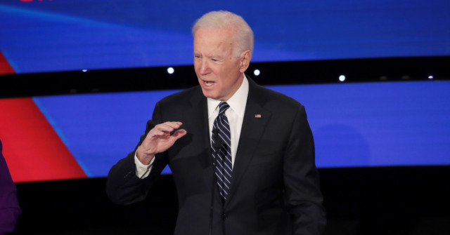 Biden Claims Donald Trump Ordered Military Force 'Into Iran'