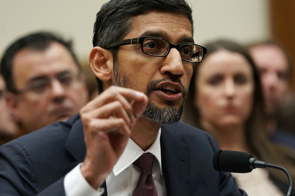 Investors like Sundar Pichai; they just pushed Alphabet into the trillion dollar club for the first time