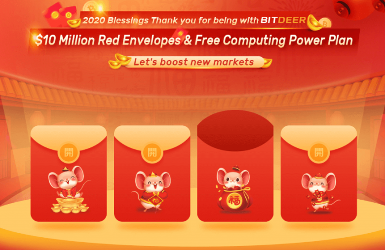 BitDeer.com Announces New Mining Plans and 2020 Lunar New Year Event