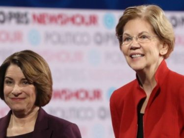 New York Times Endorses Amy Klobuchar, Elizabeth Warren for President | Breitbart
