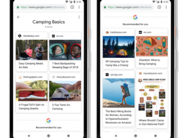 Google's Collections feature now pushes people to save recipes & products, using A.I.