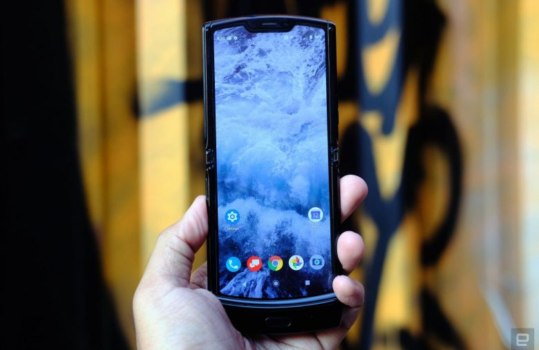 The Morning After: Motorola's foldable Razr arrives February 6th
