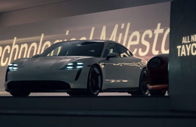 Porsche's first Super Bowl ad in 23 years is for the electric Taycan