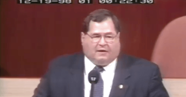 White House Counsel Concludes Argument By Playing Video of Democrats Attacking Impeachment