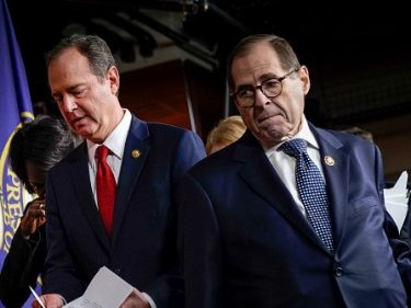 Adam Schiff Tries to Stop Jerry Nadler from Historic Impeachment Trial Moment