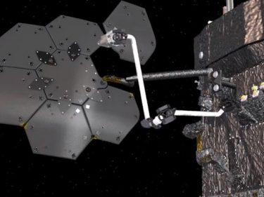 Maxar and NASA will demonstrate orbital spacecraft assembly with a new robotic arm