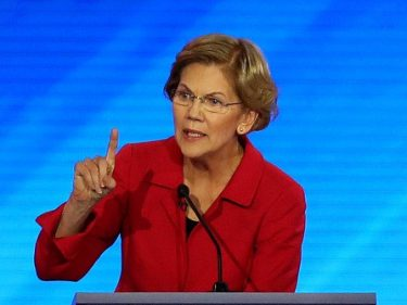 Fact Check: Liz Warren Claims '3 of 4' Americans Believe Roe v. Wade Should Be Law