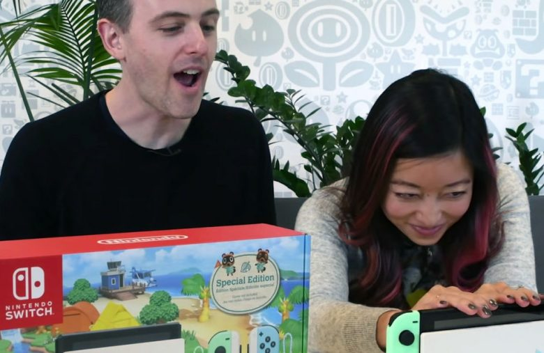 Nintendo unboxes the 'Animal Crossing' Switch you can't buy yet