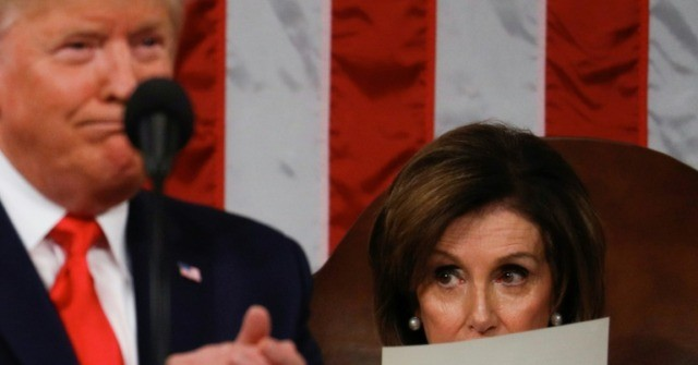 Supporters Shout 'Lock Her Up' After Trump Mocks 'Mumbling' Pelosi