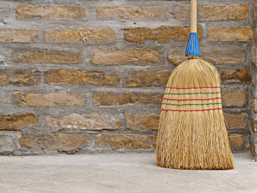 The 'Broom Standing Up' Challenge Proves Humanity Is Doomed