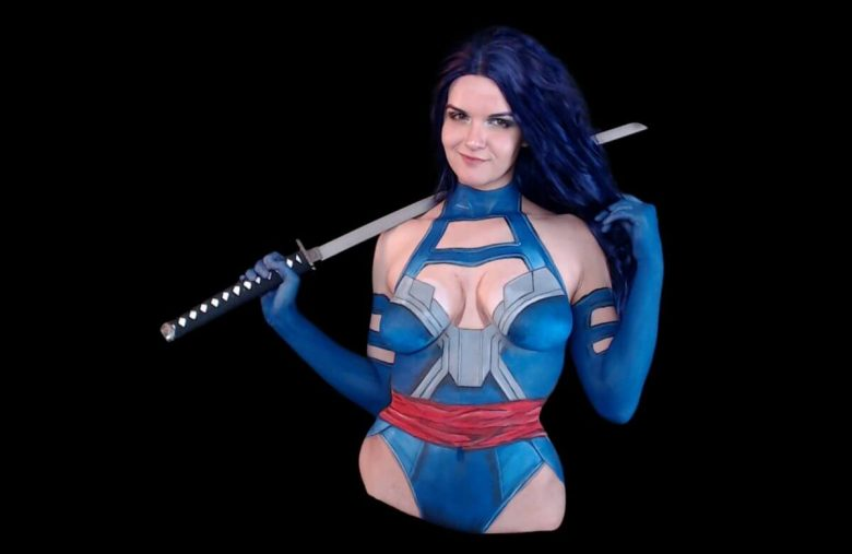 BodyPainter Forkgirl Followed Twitch Rules. Twitch Still Banned Her