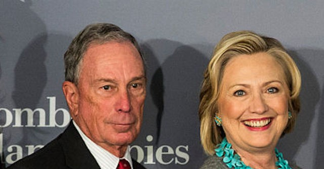 Drudge: Michael Bloomberg Considering Hillary Clinton as Running Mate