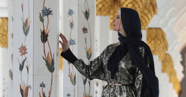 Ivanka Trump Dons Hijab for Mosque Visit; Eschews Elsewhere in UAE