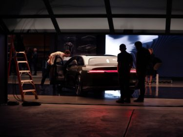 The Station: Lucid Motors spy shot and the birth of an AV startup