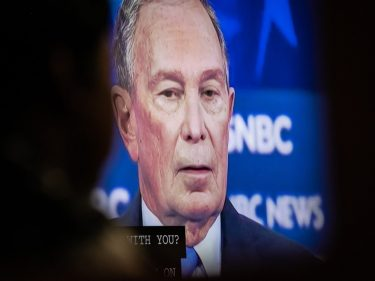 The Democratic Debate Was Mike Bloomberg's Instagram vs. Reality Moment