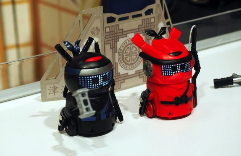 Spin Master's new NinjaBots are cute little killers