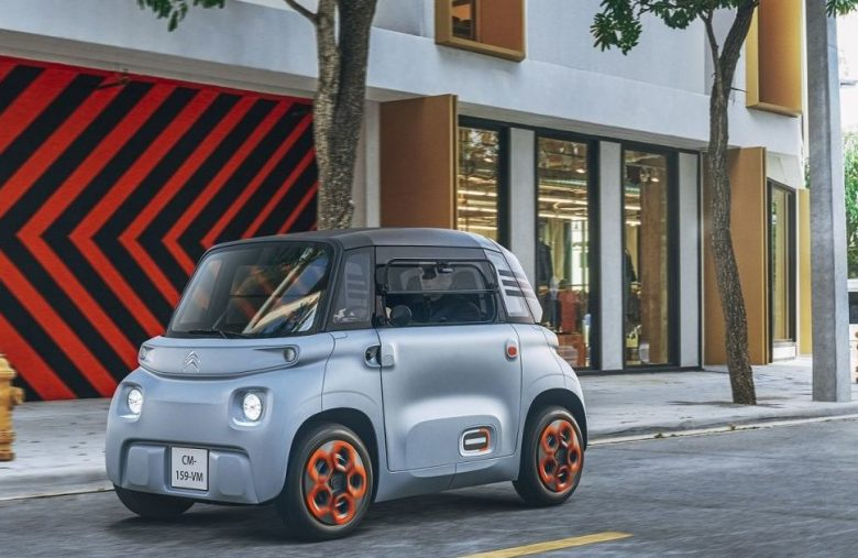 The Morning After: Meeting Citroën's tiny two-seater EV