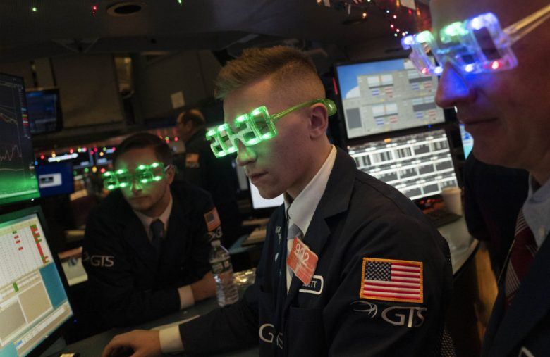 Why Wall Streeters Party Hard When The Stock Market Crashes