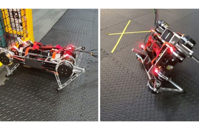 Google algorithm lets robots teach themselves to walk