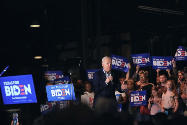 Biden stages a Super Tuesday comeback as Sanders fights for the rest in the West
