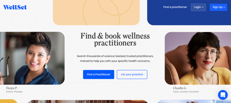 WellSet is doing a limited launch in Los Angeles of its alternative medicine booking platform