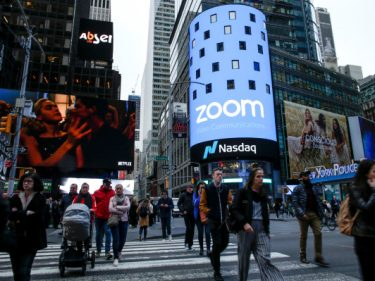Despite earnings beat and upbeat forecast, Zoom shares fall after reporting Q4 results
