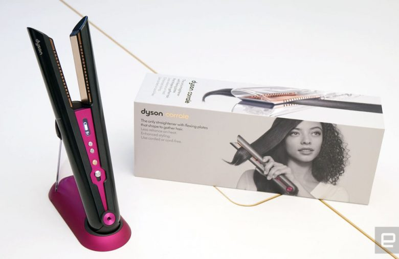 Dyson's Corrale is a $500 straightening iron with flexing plates